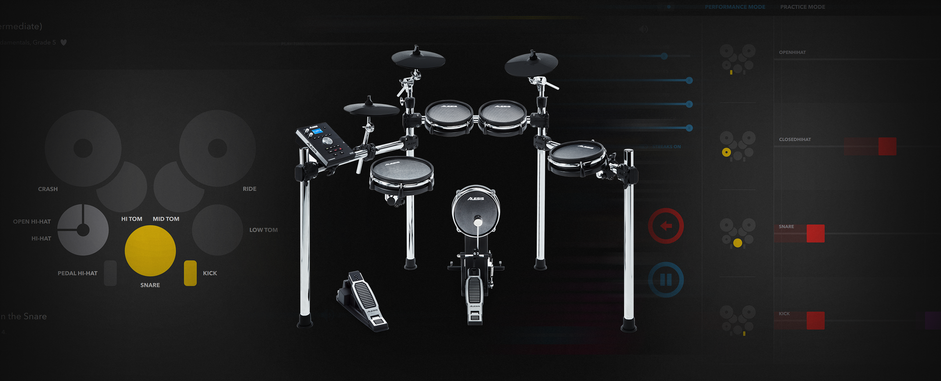 Melodics for Alesis Drums